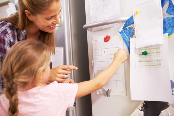 Child Behavior Monitor: Creating a Reward Plan